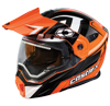 Castle X EXO-CX-950 Slash Modular Dual-Sport Snowmobile Helmet - Flo Orange-Black