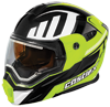 Castle X EXO-CX-950 Slash Modular Dual-Sport Snowmobile Helmet - Hi Vis-Black