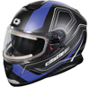 Castle X Thunder 3 SV Trace Snowmobile Helmet w/electric Sheid