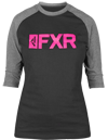 FXR Women's Evo 3/4 Sleeve Tech Shirt