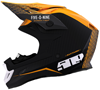 509 Altitude Carbon Fiber Helmet - Off Grid Orange w/Fidlock