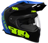 509 Delta R3 2.0 Helmet - Hi-Vis Blue w/Electric Shield