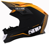 509 Altitude Carbon Fiber 3K Helmet - Particle Orange w/Fidlock