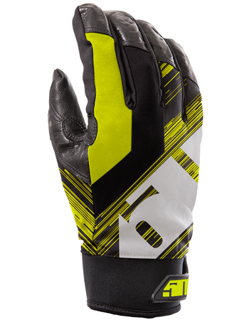 509 Freeride 2.0 Snowmobile Gloves - Lime