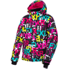 FXR Youth Fresh Jacket - Black FXR- Fuchsia