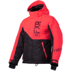 FXR Youth Fresh Jacket - Charcoal Jersey- Coral-Plum