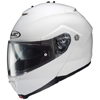 HJC IS-MAX II Solid Modular Motorcycle Helmet  - White