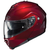 HJC IS-MAX II Solid Modular Motorcycle Helmet  - Wine