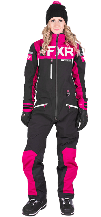 Womens Snowmobile Suits >> Fxr Womens Helium Tri Laminate Snow Suit First Place Parts