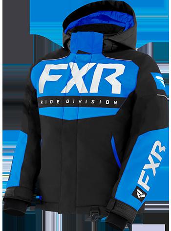 10 Black//Charcoal//Hi-Vis FXR Youth Helium Monosuit Adjustable Cuffs Thermal Flex Insulation Warm Durable