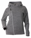 DSG Diagonal Zip Casual Hoodie by Divas Snow Gear