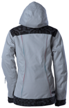 DSG Lace Collection Snowmobile Jacket - Light Gray