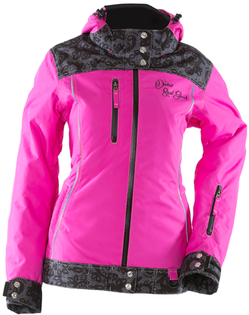 DSG Lace Collection Snowmobile Jacket - Pink