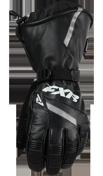 FXR Leather Gauntlet Snowmobile Glove