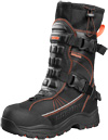 Castle X Barrier 2 Snowmobile Boots - Black-Orange