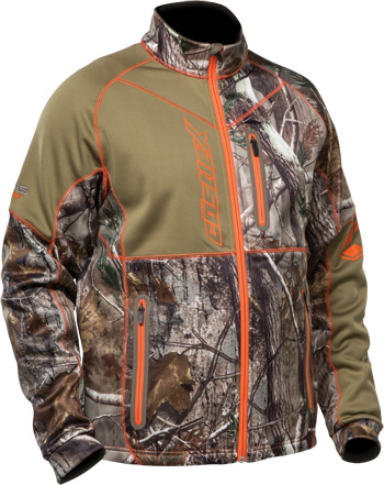 Castle X Fusion SE Mid-Layer Realtree®  Snowmobile Jacket - Front View