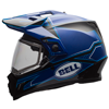 Bell MX-9 Adventure Snowmobile Helmet Matte-Gloss Blue w/Elec Shield
