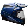 Bell MX-9 Adventure Helmet- Matte-Gloss Blue w/Dual Lens Shield