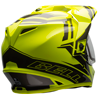 Bell MX-9 Adventure Snowmobile Helmet-Yellow/Titanium w/Elec Shield