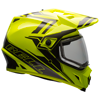 Bell MX-9 Adventure Helmet - Yellow-Titanium w/Dual Lens Shield