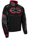 Castle X Blade G4 Snowmobile Jacket - Black-Charcoal-Red