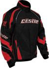 Castle X Charge Black Snowmobile Jacket