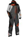 Castle X Freedom Lite Shell Snowmobile Monosuit - Charcoal-Silver-Orange