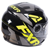FXR Youth Nitro Core Helmet w/Dual Lens Shield - Black-Hi Vis-Charcoal