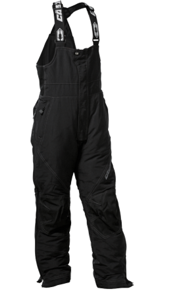 Castle X Youth Phase Snowmobile Bibs - Black