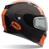 Bell Revolver EVO Snowmobile Helmet-Matte Rally Orange w/Elec Shield