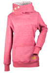 DSG Side Button Snowmobile Hoodie by Divas Snow Gear