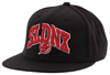 Slednecks Team Player Wool Flat Bill FlexFit Hat  - Black