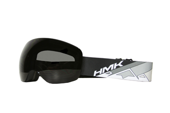 HMK Vista Snowmbile Goggles - Gray-Smoke