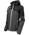 Castle X Women's Barrier G2 Tri-Lam Softshell Jacket - Gray-Black