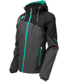 Castle X Women's Barrier G2 Tri-Lam Softshell Jacket - Gray-Mint
