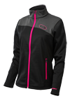Castle X Women's Fusion G2 Mid Layer Snowmobile Jacket - Black-Magenta