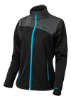 Castle X Women's Fusion G2 Mid Layer Jacket - Black-Process Blue