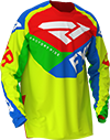 FXR Youth Clutch Air MX Jersey