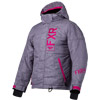 FXR Youth Fresh Jacket - Grey Linen-Fuchsia