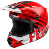 Fly Youth Kinetic Thrive Snowmobile Helmet - Red-White-Black