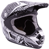 Motorfist Dominator Snowmobile Helmet - Black-White