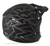 Fly Youth Kinetic Block Out Helmet  - Matte Black