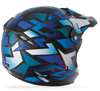 Fly Youth Kinetic Block Out Helmet  - Blue-Black