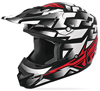 Fly Youth Kinetic Block Out Helmet  - White-Red