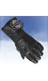 Choko Women's Ultra Leather Snowmobile Gloves