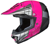 HJC CL-XY II Youth Cross Up Snocross Helmet - MC8-Neon Pink