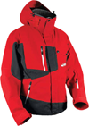 HMK Peak 2 Snowmobile Jacket  - Red