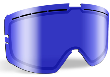 509 Kingpin Replacement Lens Snowmobile - Blue Mirror / Blue Tint