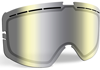 509 Kingpin Replacement Lens Snowmobile - Chrome Mirror / Yellow Tint