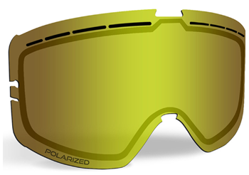 509 Kingpin Ignite Replacement Lens - Polarized Yellow Tint